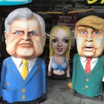Bill Clinton, Brittany Spears and Donald Trump joined the party.