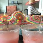 Homemade Strawberry Margaritas.