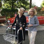 Alex and Barbara loved the antique car show.
