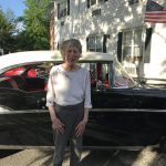 Judy loved all the cars at the car show.