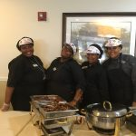 Our patriotic dining services team!