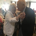 Shirley and Dr. Koehler thriving on the dance floor.