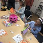 We had a great time creating out very own Halloween masks.