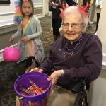 Even our residents got into costume.