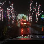 Entering Candy Cane Town at Shady Brook Farm