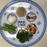 The Seder Plate.