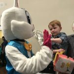 High Five Easter Bunny!