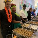 Luau Fun with delicious food at the buffet!